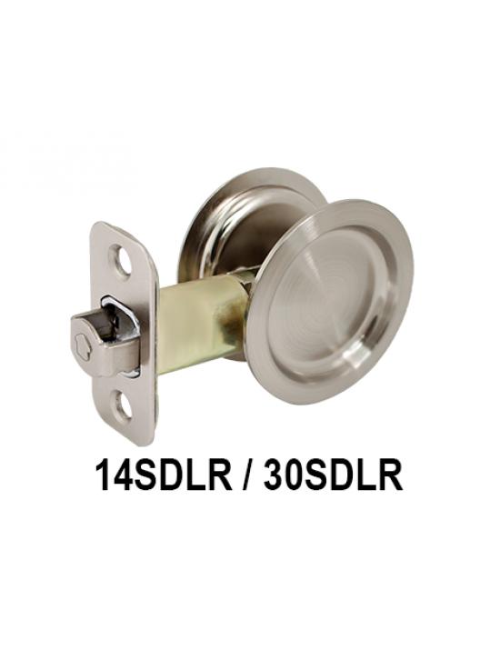 14SDLR/30SDLR, Passage Sliding Door Lock