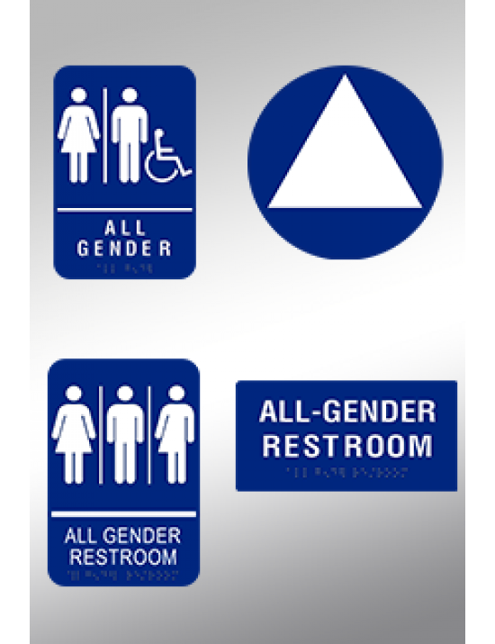 ALL GENDER SIGN