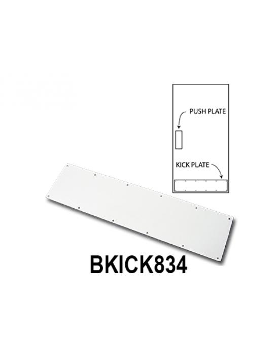 BKICK834, Metal Kick Plates