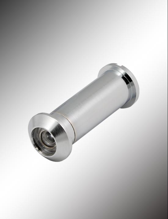 Brass Door Viewer, 160° Plastic Lens