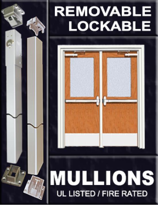 Removable & Lockable Mullions
