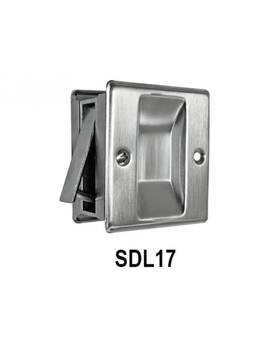 Privacy/Passage Sliding Door Lock, SDL16 & SDL17