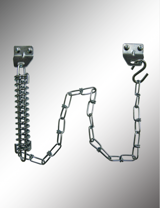 Single Spring Crash Chain Door Guard