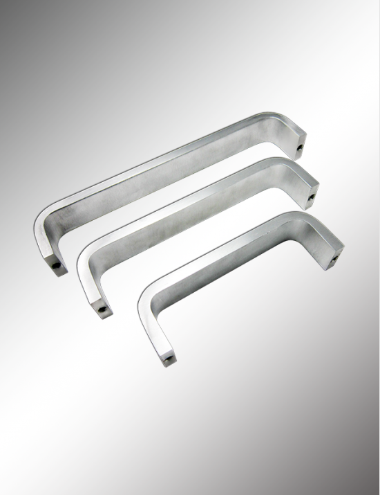"Solid Bar Pull Handle 3/8"" x 1 1/4"""