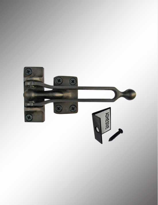 Solid Brass Door Guard Packed with Angle Protector