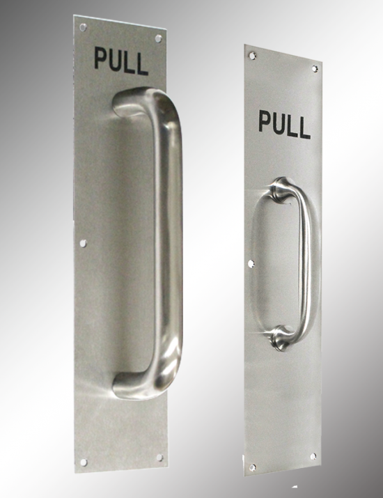 Stainless Steel Pull Plate