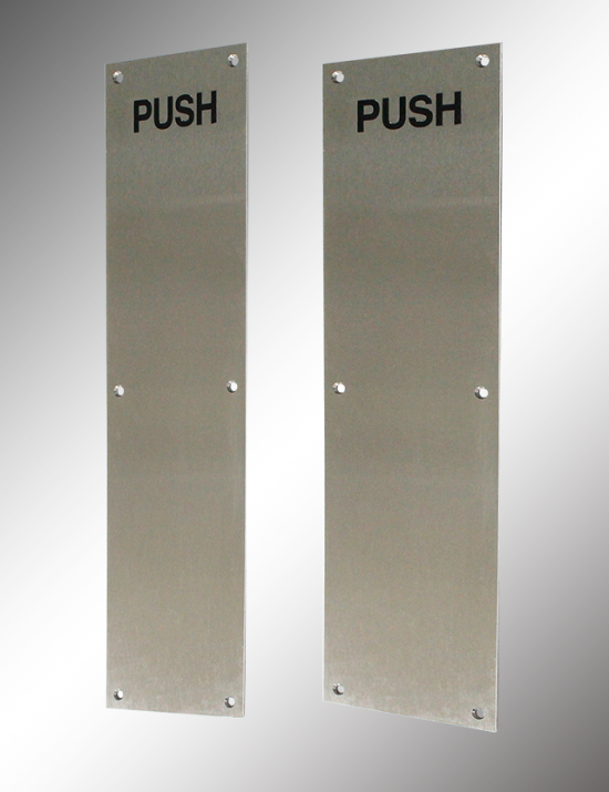 Stainless Steel Push Plate